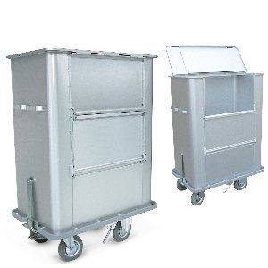 Waste trolley / dirty linen / with large compartment 203CCSN SERIES Conf Industries