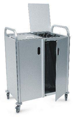 Waste trolley / 2-bag 320 SERIES Conf Industries