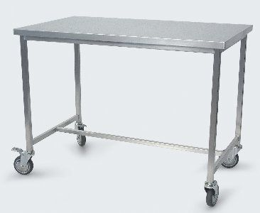 Work table / stainless steel / on casters 191AXCR SERIES Conf Industries