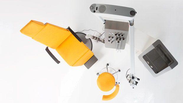 ENT workstation / with chair / 1-station Otlaphari dantschke ? intelligent medical systems
