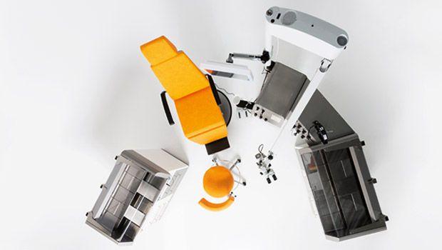 ENT workstation / modular / with chair / 1-station Futura dantschke ? intelligent medical systems