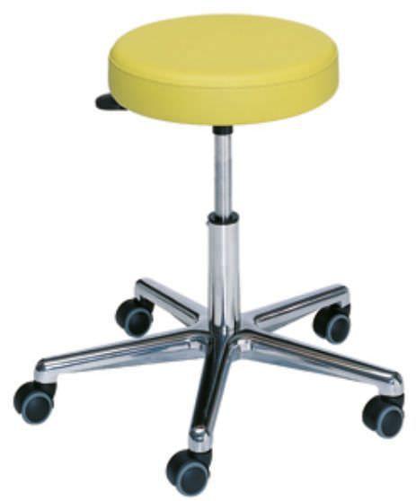 Medical stool / on casters / rotating / height-adjustable 3006205 dantschke ? intelligent medical systems
