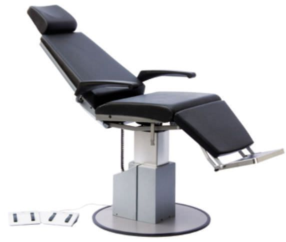Electromechanical treatment chair / rotating / height-adjustable / 3 sections 4646100 dantschke ? intelligent medical systems