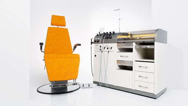 ENT workstation / with chair / 1-station Intra dantschke ? intelligent medical systems