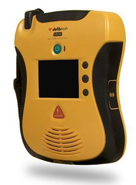 Semi-automatic external defibrillator / with monitor Lifeline VIEW AED Defibtech