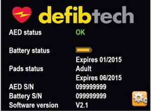 Semi-automatic external defibrillator / public access Lifeline PRO Defibtech