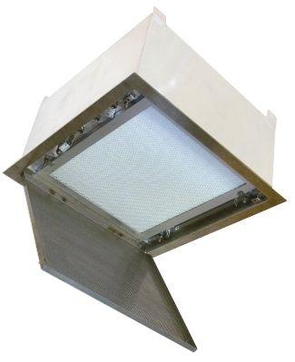 Healthcare facility filtering ceiling Pharmaseal Camfil Farr