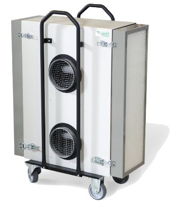 Air filtration system / for healthcare facilities CamCleaner 2000 Camfil Farr