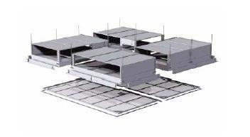 Operating theater filtering ceiling CamHosp R Camfil Farr