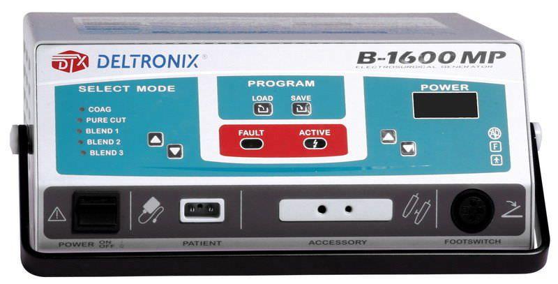 Monopolar coagulation HF electrosurgical unit / monopolar cutting B-1600 MP DELTRONIX