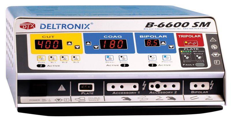 Bipolar coagulation HF electrosurgical unit / monopolar cutting / monopolar coagulation B-6600SM DELTRONIX