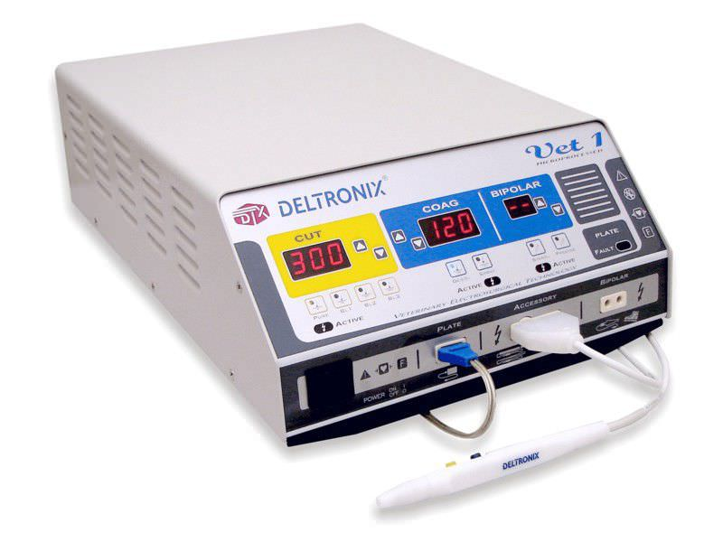 Coagulation electrosurgical unit / cut / surgery / veterinary 300 WATTS   VET1 DELTRONIX