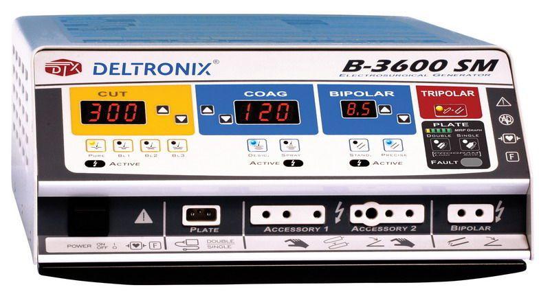 Bipolar coagulation HF electrosurgical unit / monopolar cutting / monopolar coagulation B-3600SM DELTRONIX