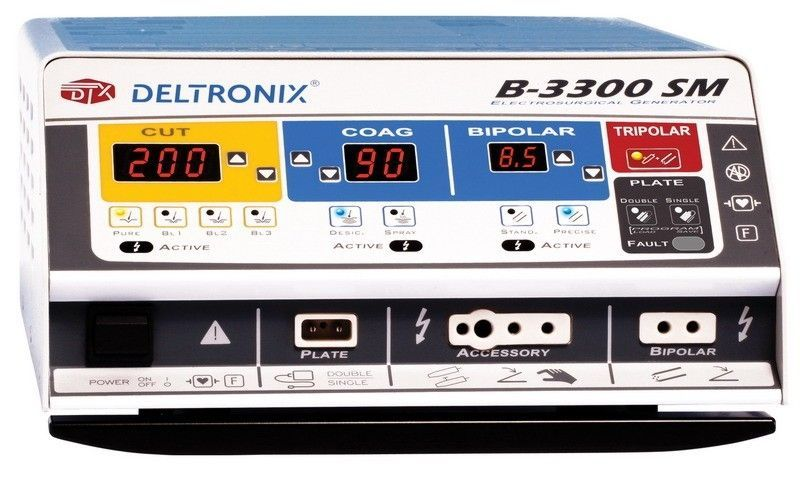 Bipolar coagulation HF electrosurgical unit / monopolar cutting / monopolar coagulation B-3300SM DELTRONIX