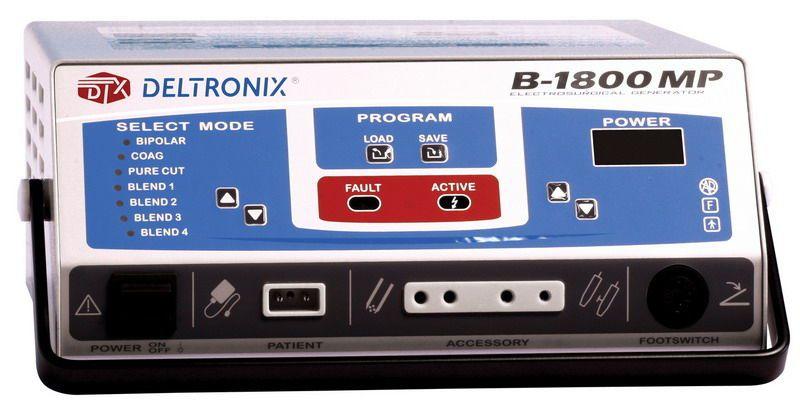 Bipolar cutting HF electrosurgical unit / monopolar cutting / monopolar coagulation / bipolar coagulation B-1800 MP DELTRONIX