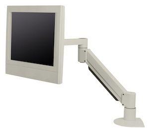 Medical monitor support arm / desk A1010 Cura Carts