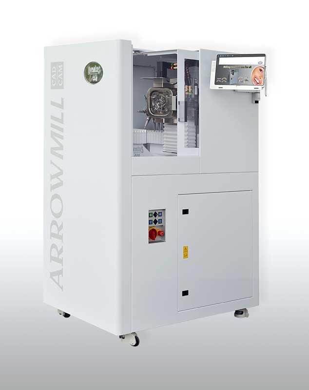 CAD/CAM milling machine / for CoCr / zirconia / 5-axis ARROW MILL DENTAS