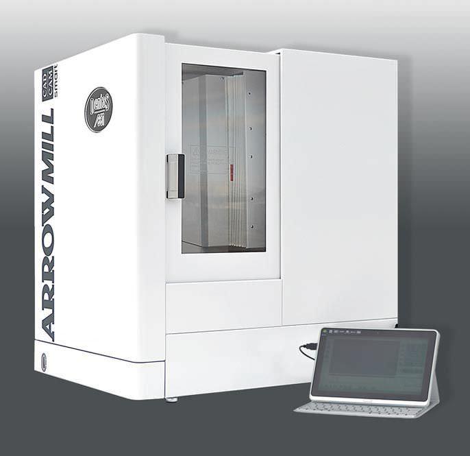 CAD/CAM milling machine / 5-axis ARROW MILL SMART DENTAS