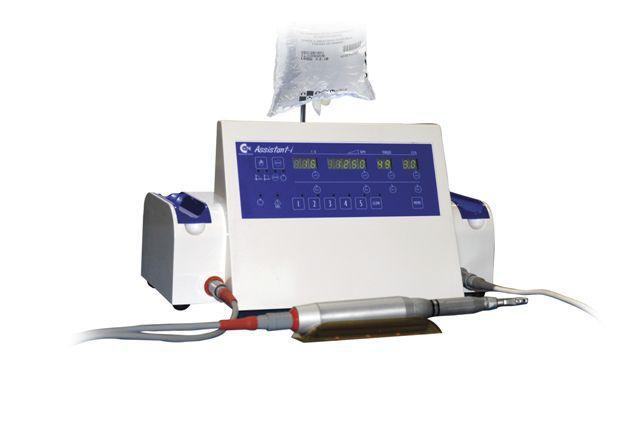 Implantology micromotor control unit / with handpiece / complete set 500 - 40000 rpm   ASSISTANT-I-XT CSN INDUSTRIE