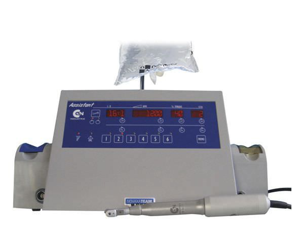 Implantology micromotor control unit / with handpiece / complete set 1100 - 26000 rpm   ASSISTANT CSN INDUSTRIE