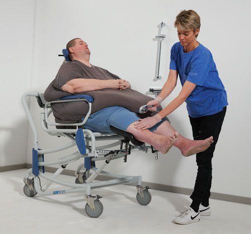 Chair RISE N DECLINE max. 325 kg COBI XXL-Rehab