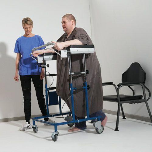 4-caster rollator / height-adjustable / bariatric max. 325 kg COBI XXL-Rehab