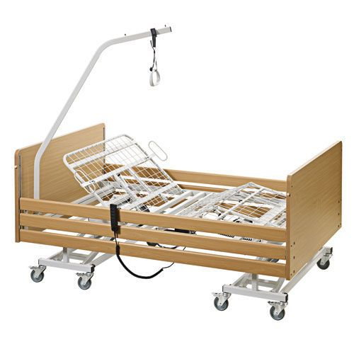 Electrical bed / height-adjustable / 3 sections / bariatric max. 300 kg COBI XXL-Rehab