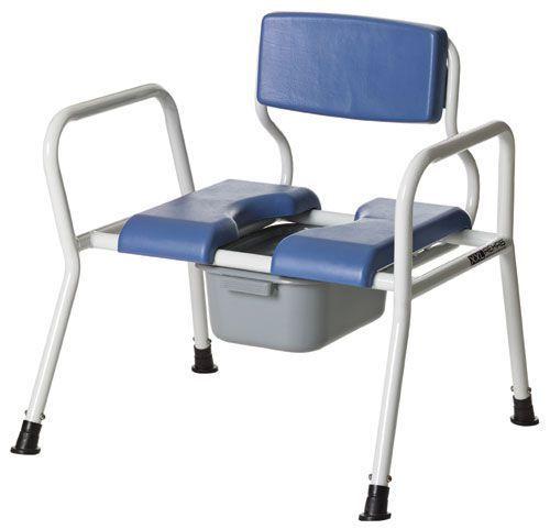Shower chair / with bucket / bariatric max. 325 kg COBI XXL-Rehab