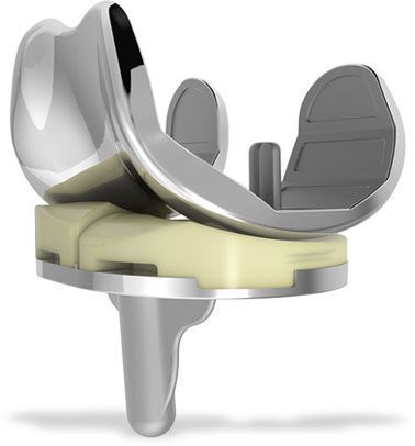 Three-compartment knee prosthesis / traditional iPoly™ XE ConforMIS