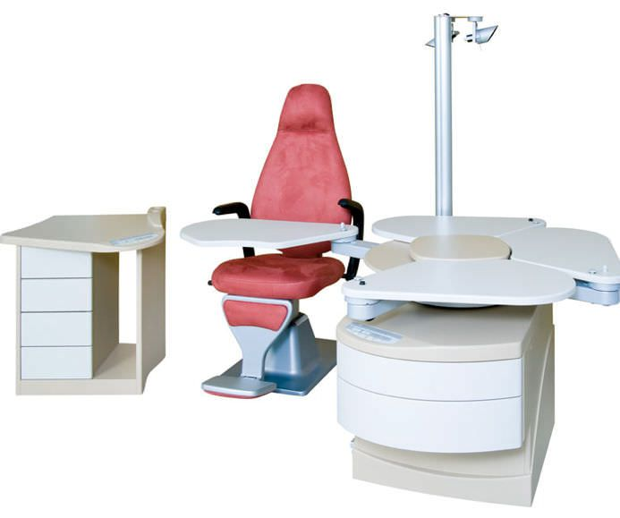 Ophthalmic workstation / with chair / 1-station VINTAGE CSO Costruzione Strumenti Oftalmici