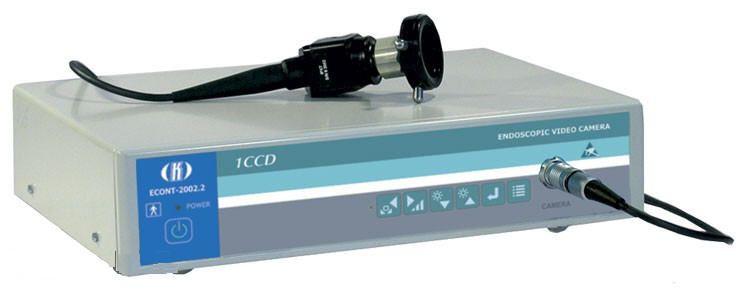 Digital camera head / endoscope / with video processor ECONT-2002.2 1CCD Contact