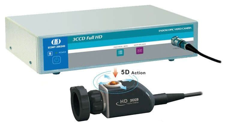 Digital camera head / endoscope / high-definition / with video processor ECONT-2002HD 3CCD Contact