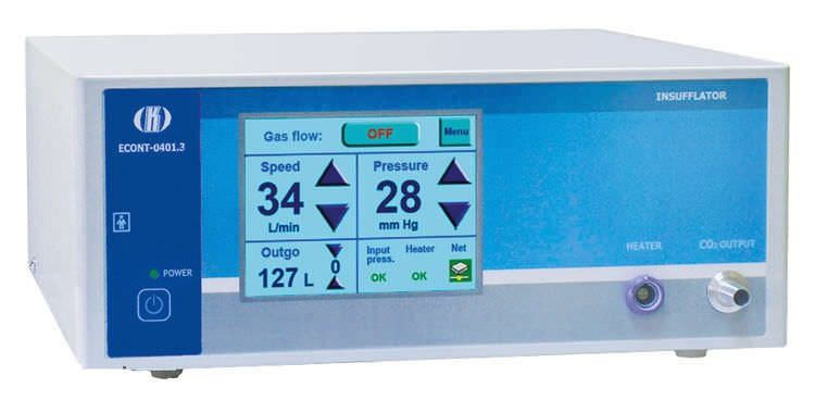 Electronic endoscopy CO2 insufflator / with gas preheating ECONT-0401.3 Contact
