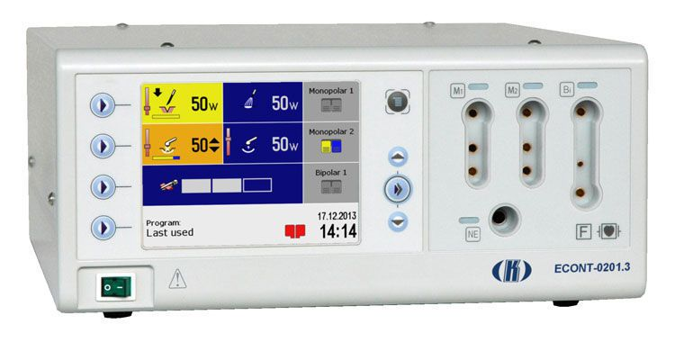 Plasma coagulation electrosurgical unit / endoscopy / surgery / urology ECONT-0201.3 Contact