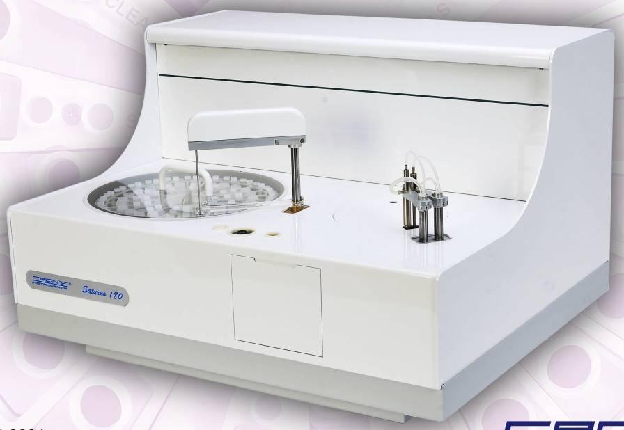 Automatic biochemistry analyzer / random access SATURNO 180 Crony Instruments