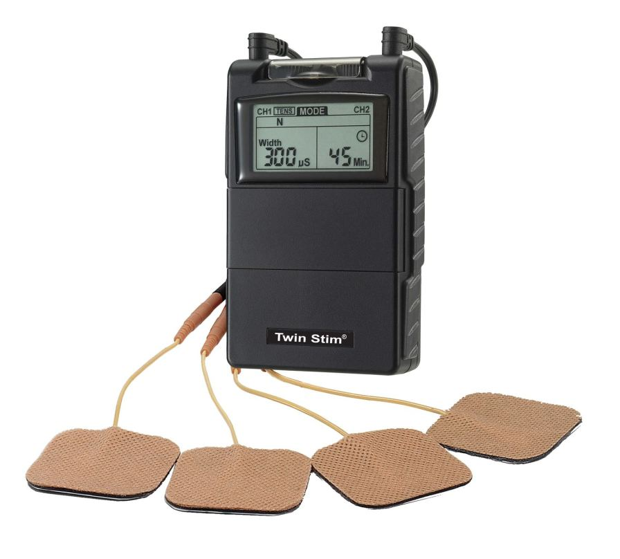 Electro-stimulator (physiotherapy) / hand-held / EMS / TENS 2 - 150 Hz | Twin Stim® 2nd Edition Current Solutions
