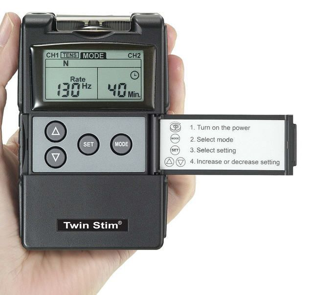 Electro-stimulator (physiotherapy) / hand-held / IF / 2-channel IF 4000 Current Solutions