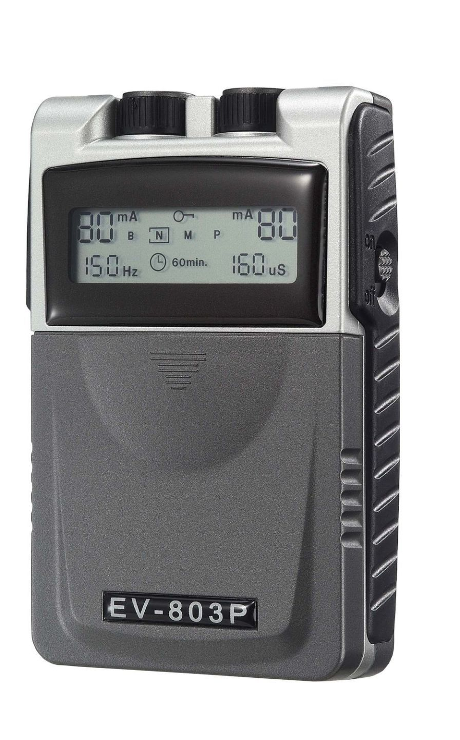Electro-stimulator (physiotherapy) / hand-held / TENS / 2-channel 1-150 Hz | EV-803P Current Solutions