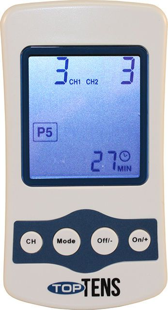 Electro-stimulator (physiotherapy) / hand-held / TENS / 2-channel 2 - 60 Hz | TopTENS™ Current Solutions