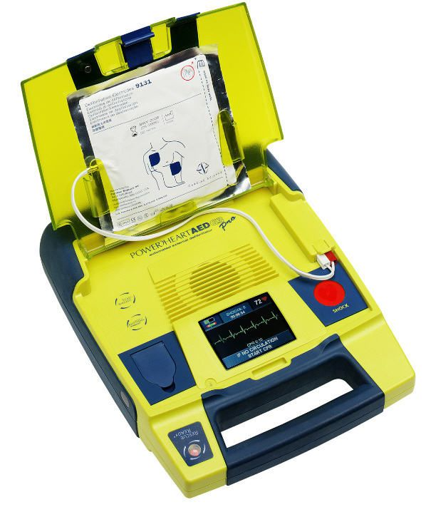 Automatic external defibrillator 95 - 351 J | POWERHEART AED G3 PRO Cardiac Science