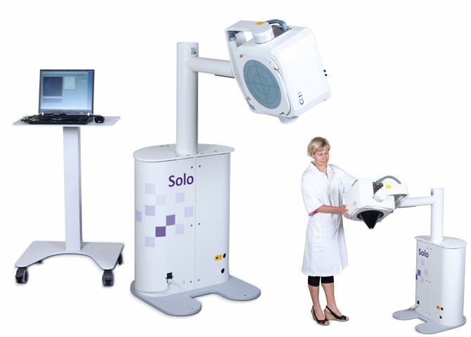 Small field Gamma camera (tomography) / for thyroid scintigraphy / for mammoscintigraphy SOLO™ DDD-Diagnostic