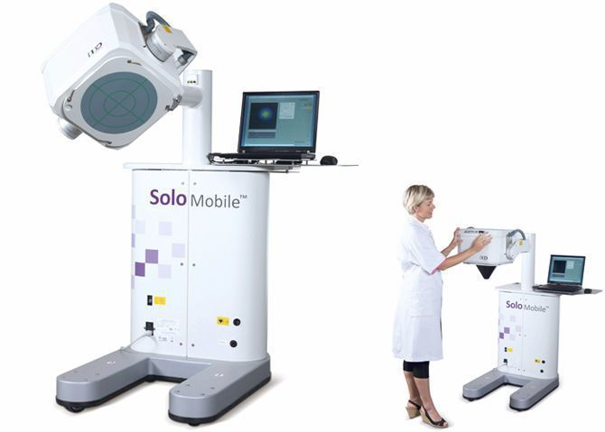 Small field Gamma camera (tomography) / for thyroid scintigraphy / for mammoscintigraphy / mobile SOLOMOBILE™ DDD-Diagnostic
