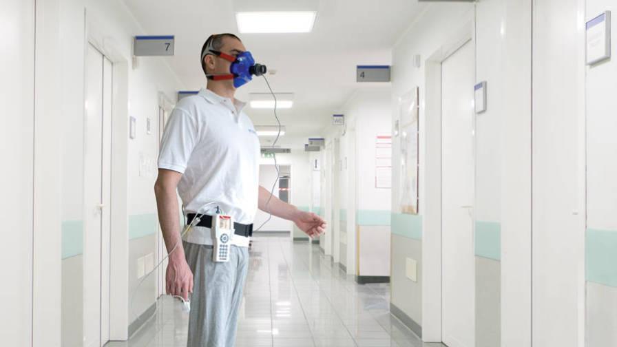 Spiropalm 6MWT - Hand-held Spirometer and Six Minute Walk Test