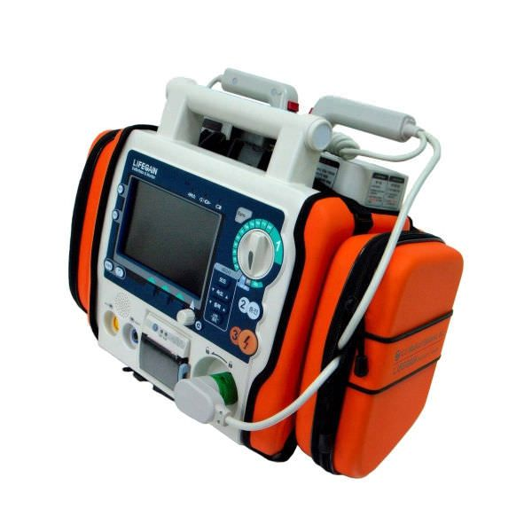Semi-automatic external defibrillator / with ECG monitor 200 J - LIFEGAIN CU-HD1 CU Medical Systems