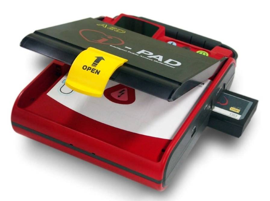 Semi-automatic external defibrillator 200 J - I-PAD NF1200 CU Medical Systems