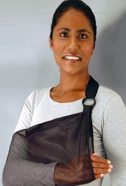 Mesh arm sling / human Bird & Cronin
