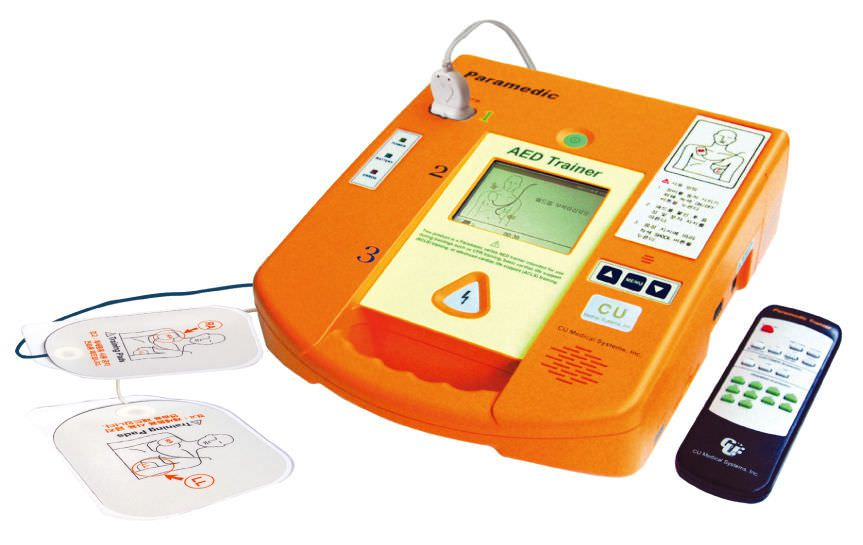 Semi-automatic external defibrillator / training PARAMEDIC CU-ERT CU Medical Systems