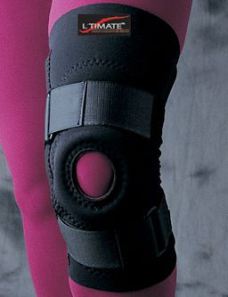 Knee orthosis (orthopedic immobilization) / with flexible stays / with patellar buttress / open knee L'TIMATE™ Bird & Cronin