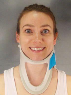 Rigid cervical collar / tracheostomy / C4 Eagan II™ One Piece Bird & Cronin