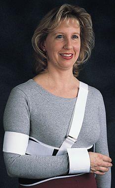 Shoulder splint (orthopedic immobilization) / with attachment strap Comfor™ Bird & Cronin